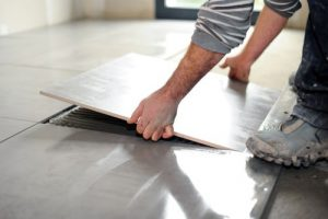 Stockton Tile Floor Installation