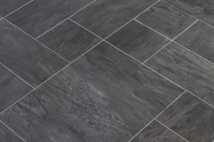 Luxury Vinyl Tile Floor